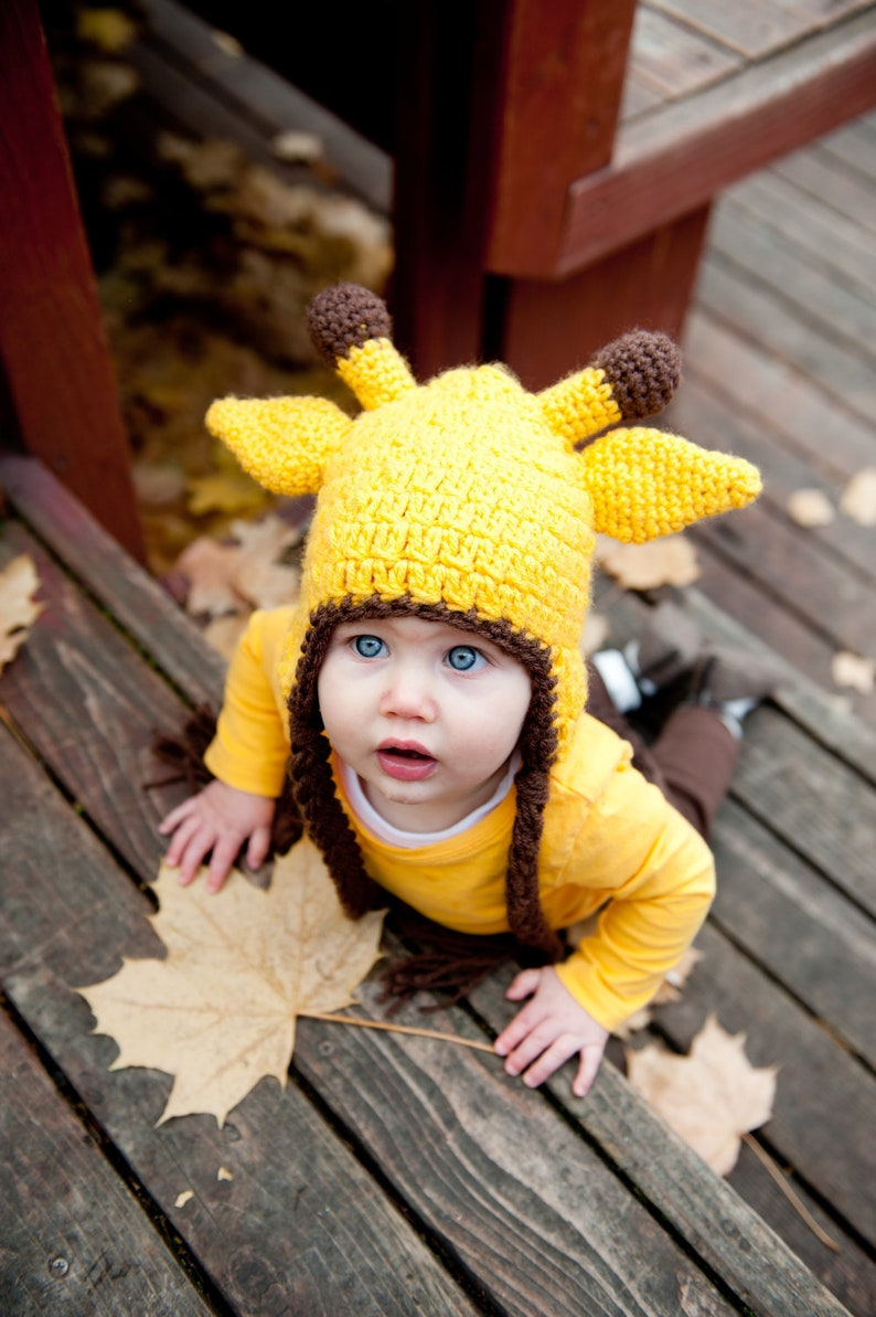 Giraffe Baby Beanie | Stay at Home Mum