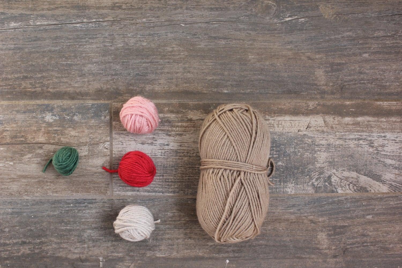 Kit chapeau Fawna, chapeau pour enfant kit à tricoter kit, kit enfant de chapeau pour le cerf boho, kit chapeau tricoté pour bébé, kit de tricot bonnet enfant oreille animale, bonnet oreille animaux pour enfant 67aa20