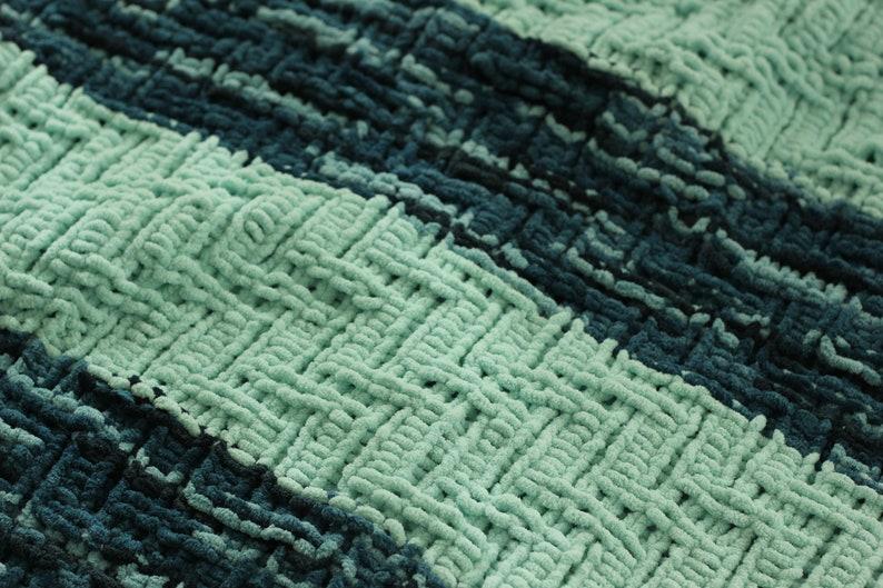 74b904a62 PDF Knitting Pattern Zig zag baby blanket chevron baby