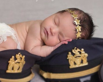 GOLD Star Headband, perfect for newborn photo shoots and regular dress up, by Lil Miss Sweet Pea