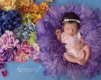 Rhinestones and Roses headband, newborn photographer, baby bling, infant hairband, Lil Miss Sweet Pea