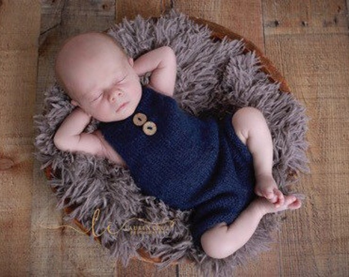 Featured listing image: Navy Mohair Overalls Romper, boys romper, bebe, foto, fotografia, photography prop, boys photoshoot, knit romper, by Lil Miss Sweet Pea