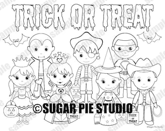 Coloring page kids | Etsy