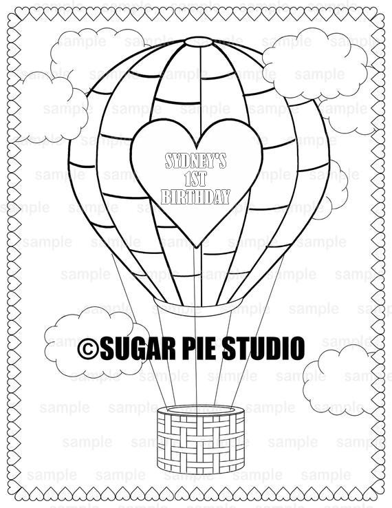 hot-air-balloon Coloring Page - Free Farmer or Gardener Coloring ... | 738x570