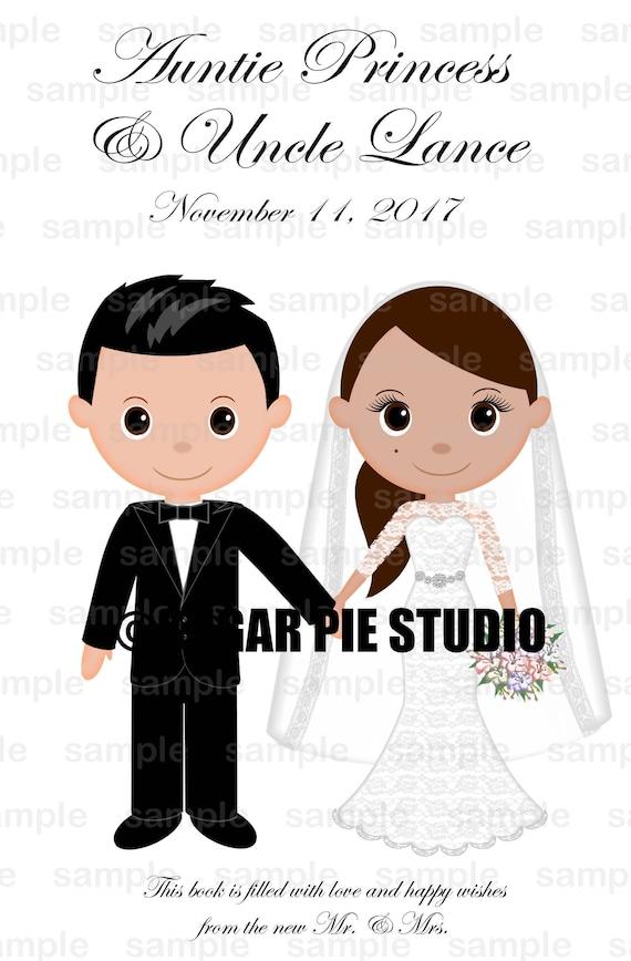 Wedding coloring activity book Custom 8.5x 5.5 Favor Kids coloring activity book PDF or JPEG TEMPLATE