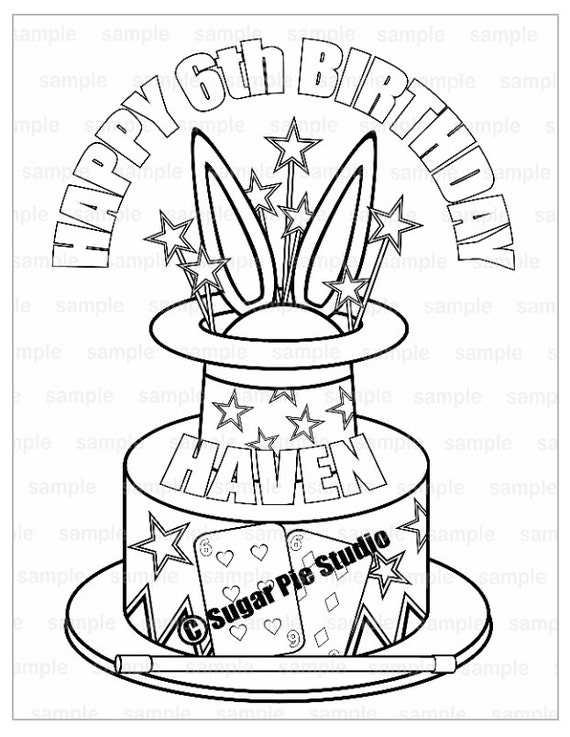 Coloring Page magician - free printable coloring pages | 737x570