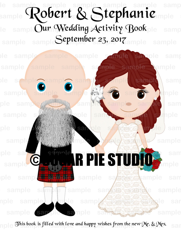 Wedding Coloring Book Custom 8 5x 5 5 Favor Kids Coloring