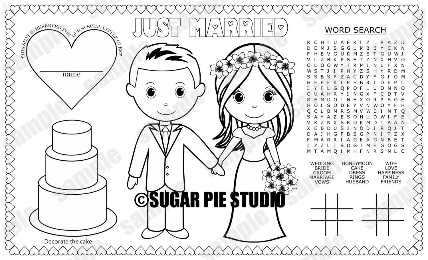 coloring pages of a groom - photo#10