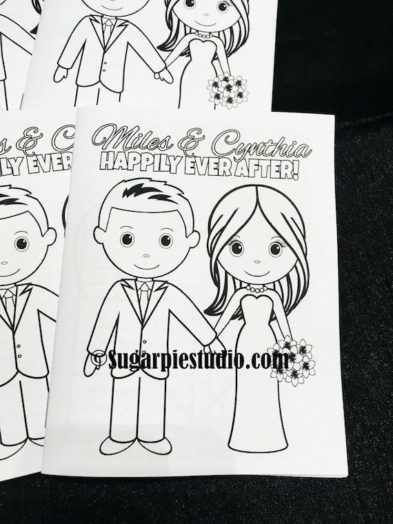 Wedding kids Favor mini size 4.25 x 5.5  PDF or JPEG TEMPLATE