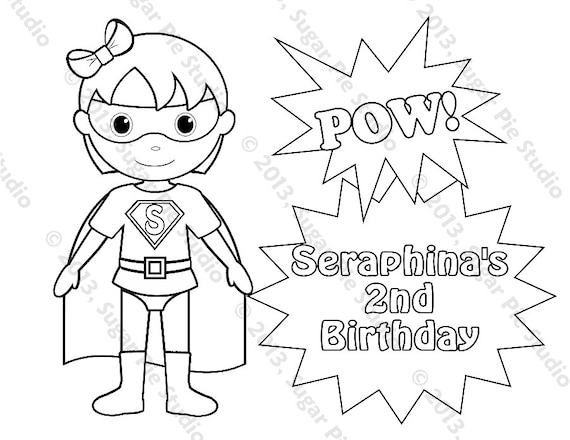 Superheroes – Printable coloring pages | 440x570