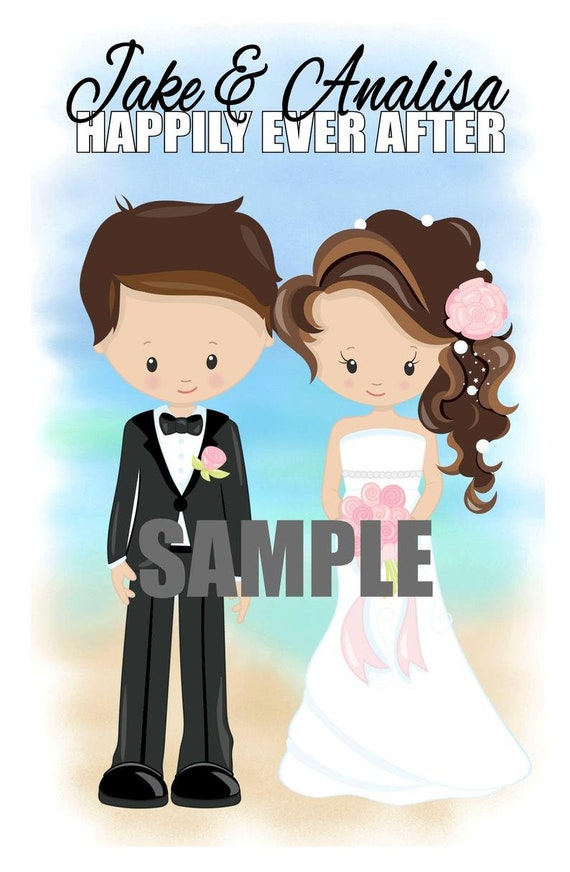 Wedding coloring book activity book Printable Personalized Favor Kids  PDF or JPEG TEMPLATE