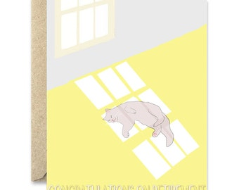 Congratulations on retirement- greeting card. Retirement greeting card