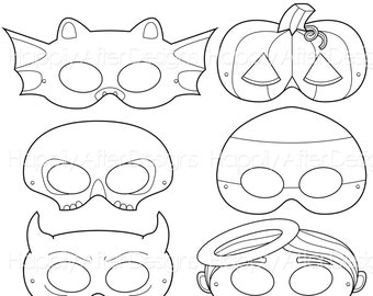 halloween printable coloring masks halloween costume halloween printable bat mask candy corn angel skeleton devil jackolantern cute