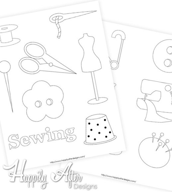 Sewing Hand Embroidery Patterns Sewing Design Pattern Etsy