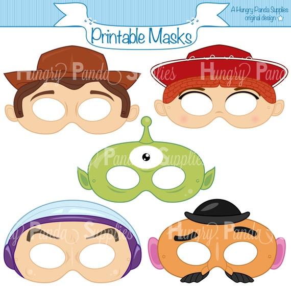 Toys Printable Masks Toy Masks Printable Masks Alien Mask Etsy