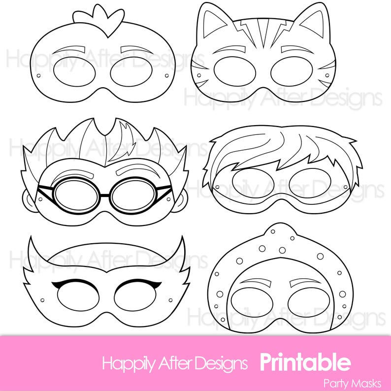 image about Printable Masks identify Tremendous Little ones Printable Coloring Masks, hero mask, villain mask, printable masks, temperament masks, owl mask, cat mask, lizard mask, ninja mask