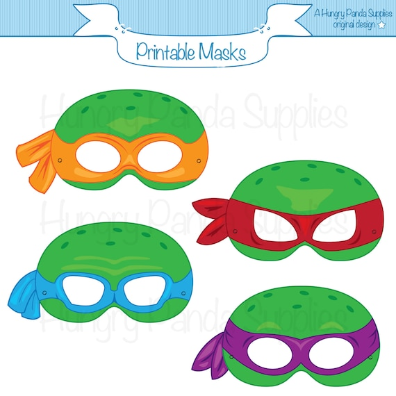 graphic about Printable Ninja Turtle Mask Template titled Turtles Printable Masks, Printable Masks, turtle masks, ninja masks, superhero mask, turtle gown, turtle get together, superhero gown