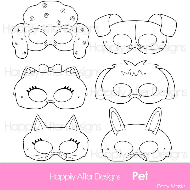photograph about Cat Mask Printable known as Animals Printable Coloring Masks, cat mask, canine mask, printable masks, identity masks, bunny mask, poodle mask, pomeranian mask, terrier mask