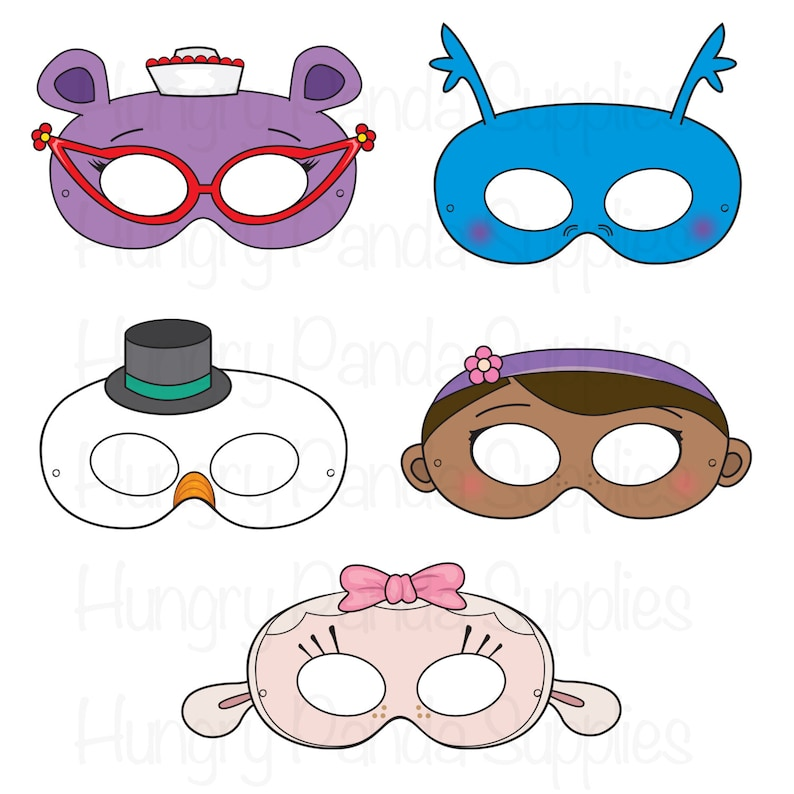 graphic about Printable Masks for Kids identified as Health care provider printable masks, physician masks, snowman mask, hippo mask, lamb mask, dragon mask, snowman mask, halloween mask, children celebration mask