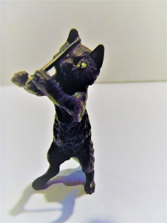 "Vienna Bronze Playful Kittens Cat Figurine 3/"" x 4/"""