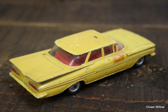 Vintage Corgi Toy Chevrolet Impala - Made in Britain gt - métal Die Cast Toy