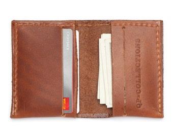 Slim Wallet - Walnut