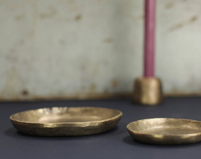 Handmade Solid Brass Plates