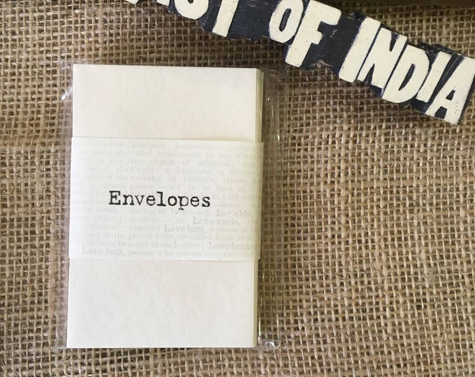 East of India Miniature envelopes