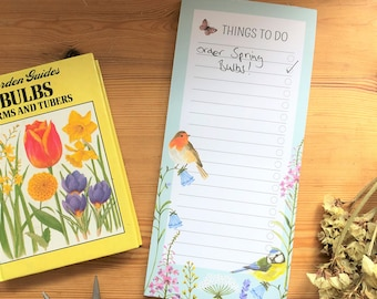 Garden Jobs Notepad