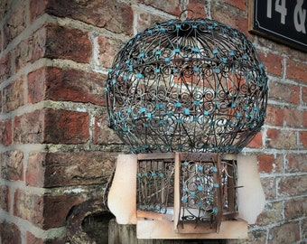 Ornamental Wire Birdcage