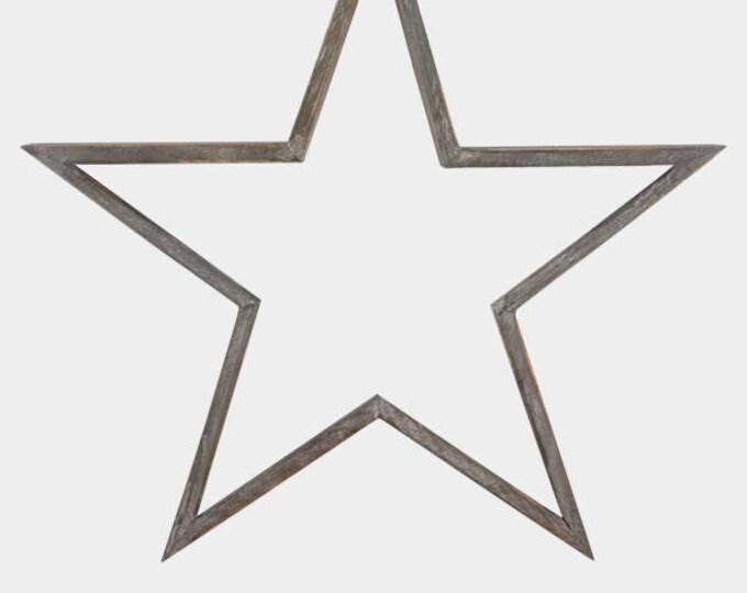 Wooden Stars from East of India, alternative wreath, wedding display, star theme, swedish star, rustic wedding, wooden decoration