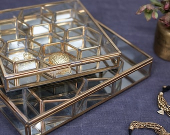 Handmade Glass Jewellery Box