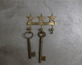 Brass Star Hooks