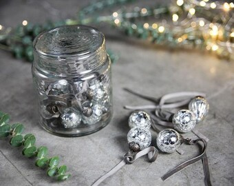 Mercury-style Glass Ornaments