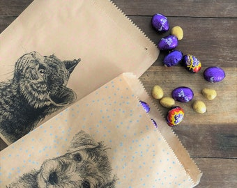 Animal Theme Paper Bags