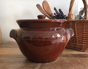 Brown Earthenware Tureens