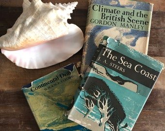 Vintage guides: The Sea Coast; Climate and the British Scene; Continental Drift