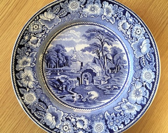 Midwinter 'Rural England' Plate