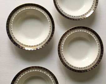 Four vintage Alfred Meakin bowls