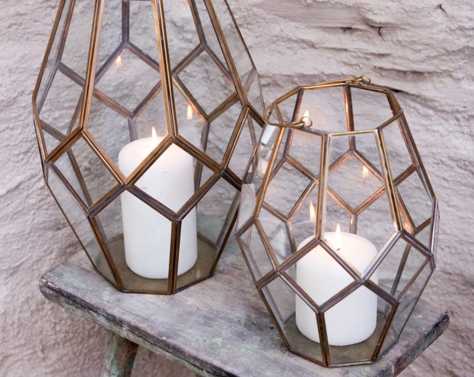 Handmade Asymmetric Lanterns