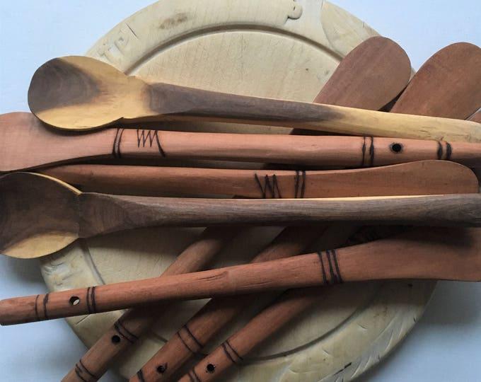 Handmade Wooden Spoons from Tanzania