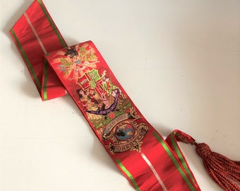 Ancient Order of Foresters vintage sash