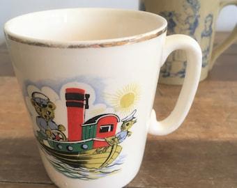 Vintage Children's Mug