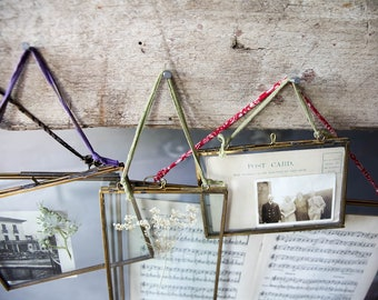 Handmade Antique Brass Photo Frames