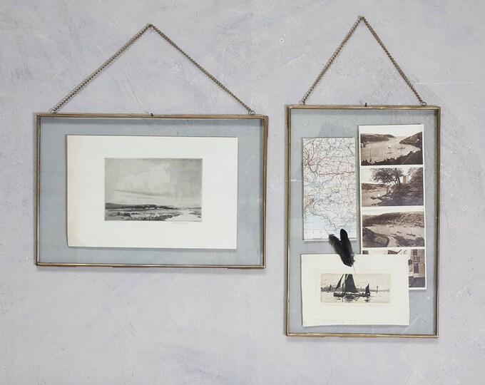 Handmade Antique Brass Photo Frames