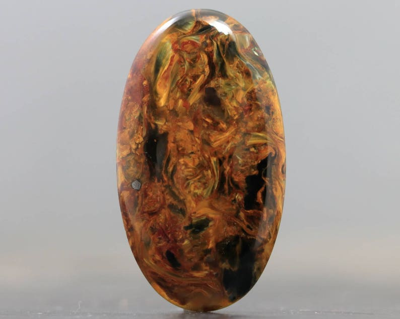 CA9799 South African Loose Gemstone Cabochon CLEARANCE Chatoyant Pietersite AAA Stone