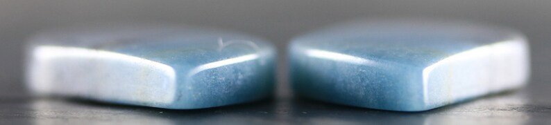 Blue Paraiba Quartz Pair