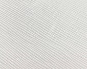 Leather 12 quot x12 quot Saffiano Weave Brilliant WHITE Embossed (Backside not nice) Cowhide 3.25-3.5 oz 1.1-1.2mm PeggySueAlso E8201-39
