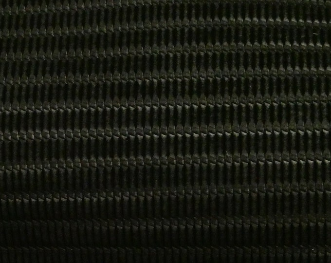 """Leather 8""""x10"""" Venetian Knot BLACK Cowhide 3-3.5 oz / 1.2-1.4 mm PeggySueAlso™ E3170-04 hides available"""