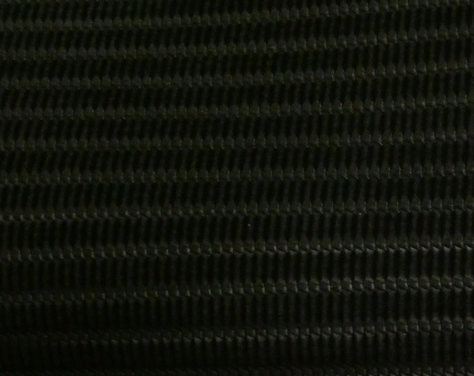 """Leather 12""""x20 +"""" Venetian Knot BLACK Cowhide 3-3.5 oz / 1.2-1.4 mm PeggySueAlso™ E3170-04 hides available"""